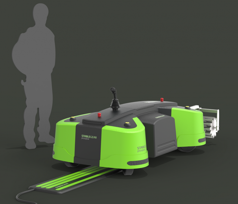 Prototype Autonomous Rover by Stable Gear1